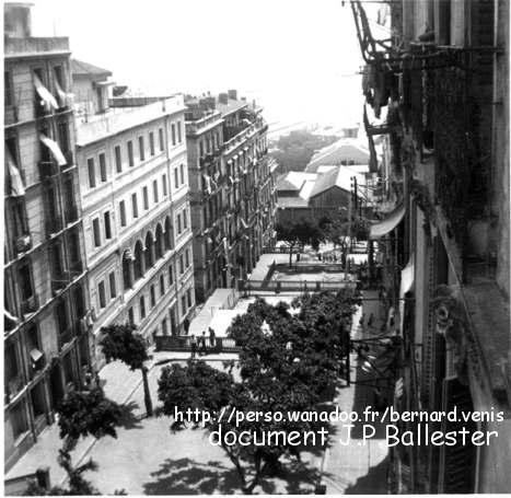 ddu balcon du 4ème étage, du 20 boulevard Gambetta.