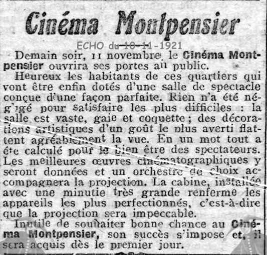 le cinema montpensier